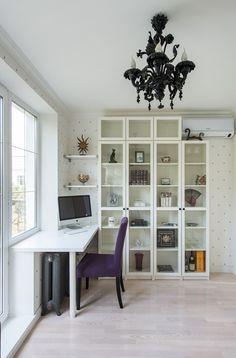 Фотография: Офис в стиле Эклектика, Классический, Малогабаритная квартира, Квартира, Декор, Дома и квартиры, IKEA, Проект недели – фото на InMyRoom.ru
