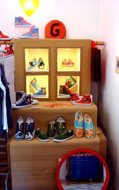 Expositor de Gabrielos en el Summer Market Xàbia.