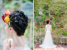 Shooting d'inspiration Dia de los muertos   Déco Mariage   Queen For A Day - Blog mariage