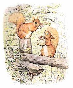 Children's / imaginative Illustrations: The Tale Of Squirrel Nutkin by Beatrix Potter