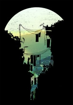 In Search of Lost Innocence by David Fleck, via Behance