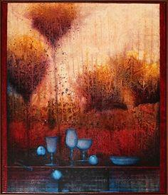 Melita GWERKOVÁ Bratislava, Mixed Media, Gallery, Painting, Roof Rack, Painting Art, Paintings, Painted Canvas, Drawings