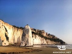 The sea stack of Vieste: Pizzomunno! #motorcycle #tour #italy