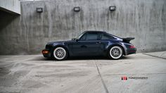 Porsche 911 Turbo (964) Photo by Tunerworks Performance Inc. (Click on photo for high-res. image.) Photo found here: https://www.flickr.com/photos/tunerworks/5964828425/sizes/l/in/photostream/