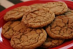Chewy Ginger Molasses Cookies - these are my favorite cookies! (next to Russian Tea Cakes!)