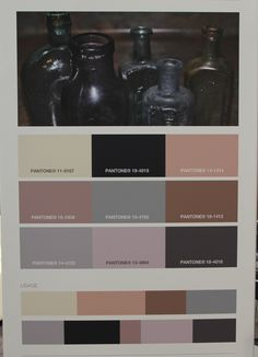 Method + Madness fall 2016 winter 2017 trend forecast color palette on The Key To Chic