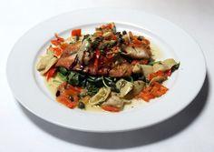 Tilapia with an Italian twist courtesy of Al Forno's Ristorante in Salt Lake City. Get the recipe here: http://www.sltrib.com/sltrib/lifestyle/54737827-80/tilapia-recipe-tablespoon-lake.html.csp. (Rick Egan | The Salt Lake Tribune)