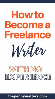 Making money online as a freelancer requires sets of skills. Learn how to become a freelance writer with no experience using our actionable guide. With this freelance writing for beginners guide, you will learn how to write the perfect pitch, build a community of freelance writers and join freelance writing agencies to land your first writing job #freelancewriter #makemoneyonline #freelancing #makemoneyfast #workfromhome Make Money Writing, Writing Tips, How To Make Money, How To Become, Earn Money Online, Online Jobs, Freelance Writing Jobs, Online Writing Jobs, Writing Portfolio