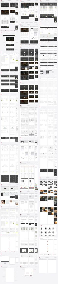 Responsive Website Wireframe Kit by UX Kits on Creative Market. If you're a user experience professional, listen to The UX Blog Podcast on iTunes.