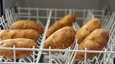 How To Clean Potatoes In The Dishwasher