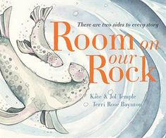"""""""There are two ways to read this story. When read from left to right, the seals believe there is definitely no room on their rock for others. When the book is read backward, the seals welcome others to shelter on their rock. A heartwarming story about sharing and compassion. """" #awardwinning Earned CBCA Picture Book of the Year Notable #childrensbooks"""