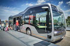 اتوبوس های خودران جایگزین سیستم حمل و نقل جاده ای کشور می شود!