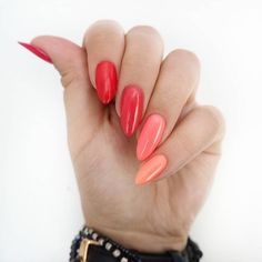 Here are some hot nail art designs that you will definitely love and you can make your own. You'll be in love with your nails on a daily basis. Cute Pink Nails, Funky Nails, Pastel Nails, Cute Acrylic Nails, Love Nails, Pretty Nails, Aycrlic Nails, Nail Manicure, Hair And Nails
