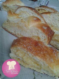 Ana Claudia na Cozinha: Pão Doce de Coco