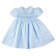 Feltman Brothers Dress Girls Blue Smocked Yoke Dress with... https://www.amazon.com/dp/B01AYK0CYY/ref=cm_sw_r_pi_dp_x_lvCxzbA6E99B7