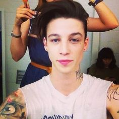.ash stymest <3 #ashstymest Cole Mohr, Male Profile, Ash Stymest, Horsemen Of The Apocalypse, Young Fashion, I Love Him, Male Models, Character Inspiration, Sexy Men