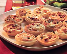 Chorizo and Blue Cheese Tarts with Castello® Noble Blue Cheese #appetizer #bluecheese #recipe