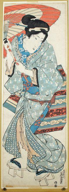 Keisai Eisen - Beauty Tate-e