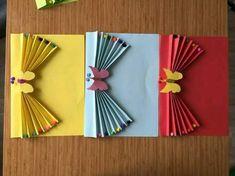 Decora fácilmente una carpeta o folder y úsala para entregar documentos escolares como diplomas, boletas o buenos reportes de una manera mu. Easy Paper Crafts, Diy And Crafts, Arts And Crafts, Valentine Crafts For Kids, Mothers Day Crafts, Flower Cards, Paper Flowers, Decor Eventos, Notebook Cover Design