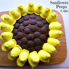 Sunflower Peeps Cake 2
