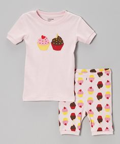 Look at this Pink Cupcake Pajama Set - Infant, Toddler & Girls on #zulily today!