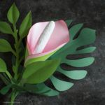 Here I will show you how to make paper flowers with this simple crepe paper technique. I just love the way the crepe adds a rustic texture to the flowers.