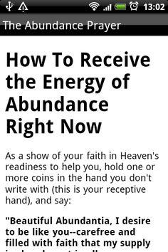 Pray For Abundance and Wealth 個人化 App-癮科技App