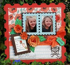 Scrapbook page designed by Sharon Harnist using Amazing Paper Grace Sept Kit
