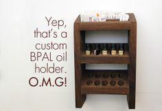 A custom @Andrea Black Phoenix Alchemy Lab oil holder! #BPAL