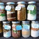 Dry Pre-Measured Complete Meals In Jars (just add water and cook!)