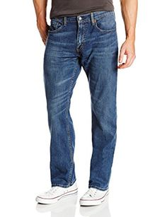 869e62de Levi's Men's 559 Relaxed Straight Fit Jean - 42W x 29L - Steely Blue -  Stretch