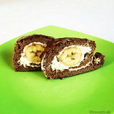 zdrava bananova rolada