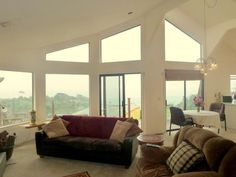 Stunning views from living area