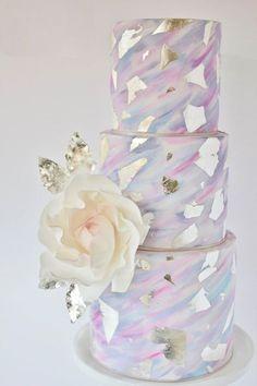 Metallic Wedding Cakes, Metallic Cakes for Weddings