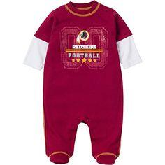Washington Redskins Baby Pajamas Redskins Baby 24ff8ab00