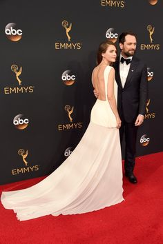 Keri Russell and Matthew Rhys at the 2016 Emmys | POPSUGAR Celebrity