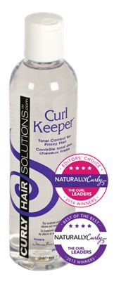 Curl Keeper- if you dont use this on your curls your adding too much crap to your hair. Its incredible, once you use it you wont go back!