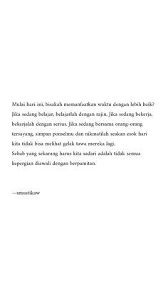 New Quotes Indonesia Sindiran Ideas Text Quotes, Book Quotes, Qoutes, Islamic Inspirational Quotes, Islamic Quotes, Cinta Quotes, Saving Quotes, Wattpad Quotes, Whatsapp Wallpaper