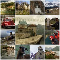Montenegro. Photo tiles mosaic. ANIA W PODRÓŻY travel blog and photography