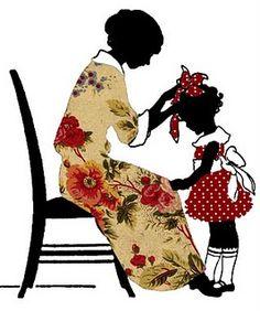 cute #silhouette - art journal inspiration