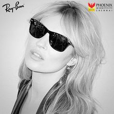 Adorn your eyes with the latest collection released by and face the in Available at Phoenix MarketCity, Chennai Chennai, Phoenix, Ray Bans, Eyes, Face, Summer, Collection, Style, Swag