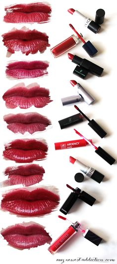 The Best Red Lips - My Newest Addiction Beauty Blog