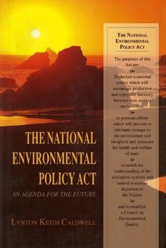 """The National Environmental Policy Act: An Agenda for the Future by Lynton Keith Caldwell. $22.76. http://moveonyourmind.com/showme/dpxtl/0x2t5l3w3f3b4s4p4s6c.html. Author: Lynton Keith Caldwell. Publisher: Indiana University Press (February 22, 1999). 232 pages. """"The National Environmental Policy Act has grown more, not less, important in the decades since its enactment. No one knows more about NEPA than Lynton Caldwell. And no one has a..."""