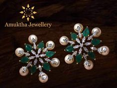 Ideas Jewerly Collection Gold Indian - New Ideas Emerald Jewelry, Gold Jewelry, Jewelery, Gold Bangles, Diamond Jewelry, Gold Diamond Earrings, High Jewelry, Antique Jewelry, Silver Earrings