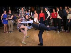 Fast Tempo Part of Lindy Hop Advanced Final Jam at Russian Swing Dance Championship 2015 - YouTube