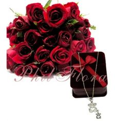 send a single red rose for valentine's day