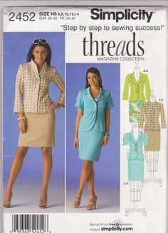Sewing pattern for Threads Collection fitted by beththebooklady, $5.99