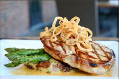 Tavern Mission Farms -  Get rid of those Monday blues with our Grilled Pork Porterhouse at dinner tonight!