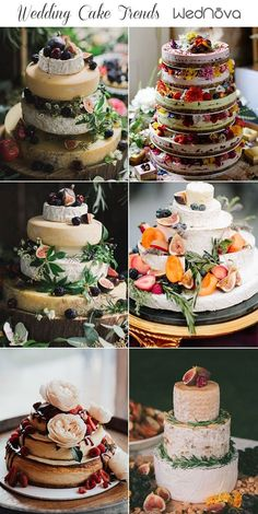 2019 Wedding Cake Trends to Inspire Your Big Day Wedding cake decorating trends Cheese Wheel Cake cheese cakes wheel cake birthday Rustic Wedding Foods, Wedding Desserts, Wedding Cakes, Wedding Ideas, Trendy Wedding, Pavlova, Wheel Cake, Fromage Cheese, Best Cheese