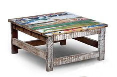 Muebles reciclados que huelen a mar